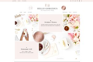 Hello Gorgeous - Wordpress Genesis