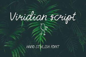 Viridian font