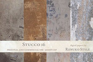 Stucco 16 Photoshop Textures