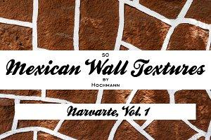 Mexican Wall Textures, Narvarte 1
