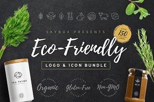 Eco-Friendly Logo & Icon Bundle