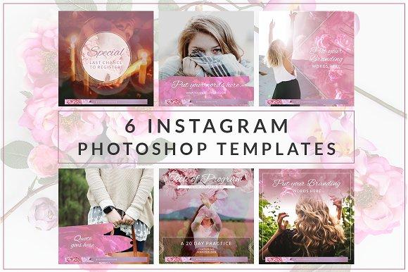 Instagram Branded Templates Vol. 3