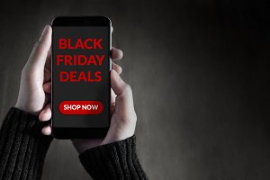 Black Friday Promotional on Mobile
