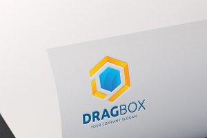 Dragbox logo D letter logo
