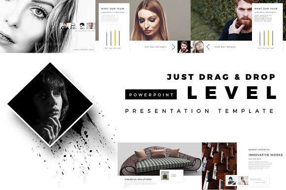 LEVEL PowerPoint Template-Graphicriver中文最全的素材分享平台