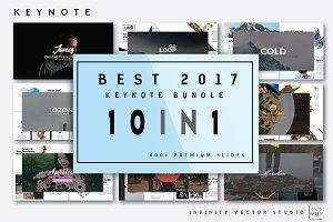 Best 2017 Keynote Bundle 10 in 1
