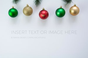 Traditional Christmas Stock Photo