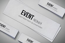 Event Tickets Mock-Up Pack