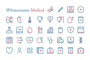 Whatsername Medical Icon