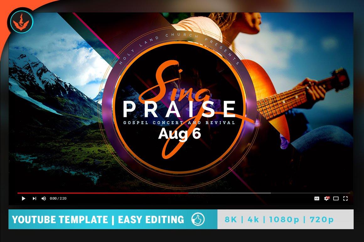 Sing Praise YouTube Video Artwork