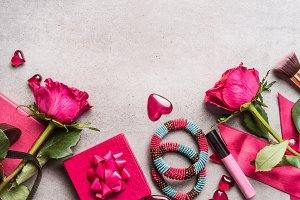 Women accessories for Valentines day