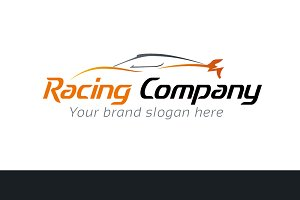 Racing Company Logo Template