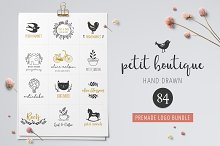 Logo boutique, premade logo template