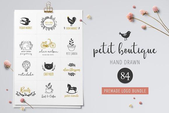 logo boutique premade logo template logo templates creative market
