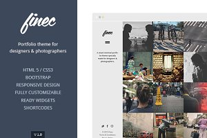 Finec Theme For Designers & Artists