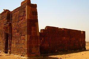 Apademak temple ruins, Naqa, Meroe