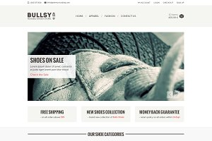 Bullsy - A Rugged Ecommerce Template