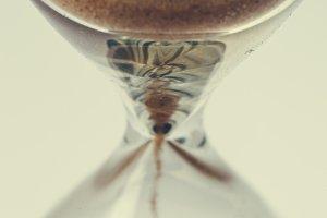 sandglass background