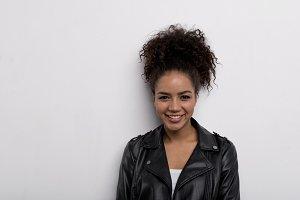 Trendy brunette
