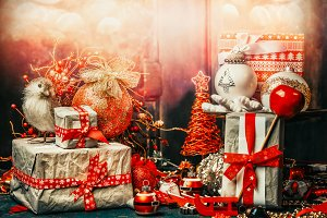 Christmas decoration, retro style