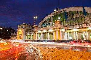 Hualampong Railway Station.
