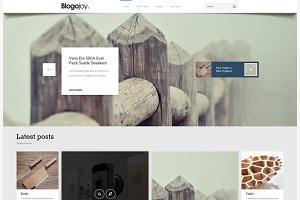 Blogojoy – Minimalist Blog WordPress
