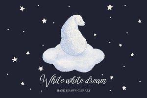 White white dream.