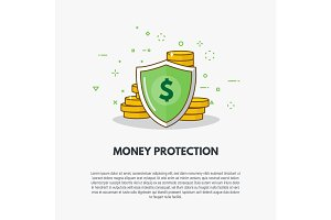 Golden coins protection