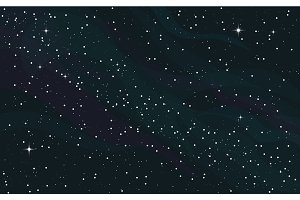 Space starry background
