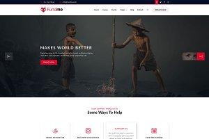Fund Me – Non Profit HTML5 Template