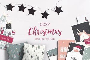 Cosy Christmas- 72 bundle set