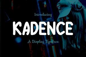 Kadence Typeface