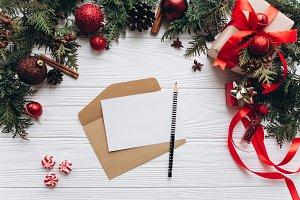 Empty wishlist for Santa Claus