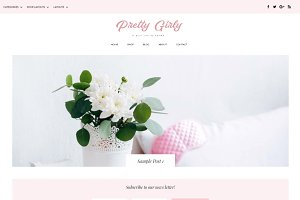 Pretty Girly WordPress Theme
