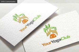 Yoga Club Logo template
