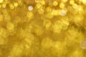 Bokeh light of gold glitters