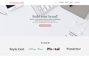 Bloggeratti - WordPress Divi Theme