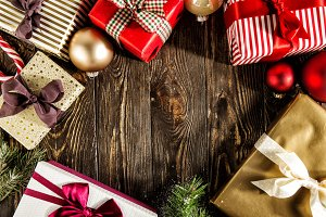 Background of Christmas deco