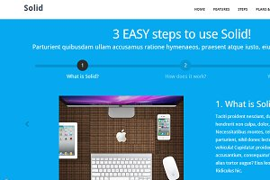 Solid - Bootstrap HTML Template