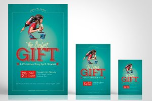 Perfect Gift Church Flyer Poster