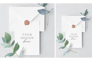 Invitation Card & Envelope