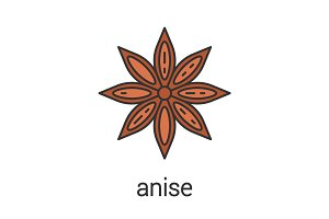 Anise color icon