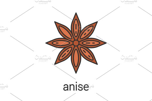 Anise color icon in Icons