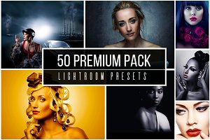 50 Premium Lightroom Presets Pack
