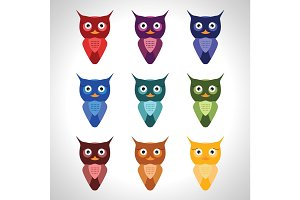Owl vector set