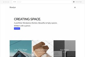 Rowlyn - Creative WordPress Theme