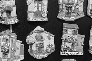Souvenirs Magnets of Buenos Aires