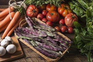 Variety vegetable