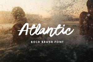 Atlantic - Bold Brush Font