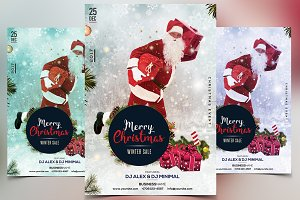 Merry Christmas 2017 - PSD Flyer